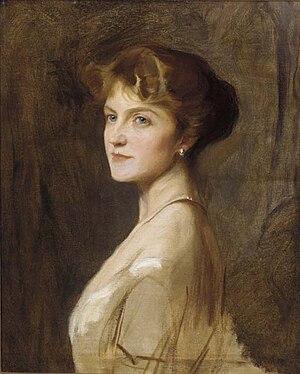 William Cavendish-Bentinck, 7th Duke of Portland - Ivy Gordon-Lennox by Philip de László, 1915