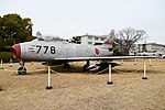 JASDF F-86F(82-8778) left front view at Komaki Air Base March 3, 2018.jpg