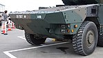 JGSDF Type 16 Maneuver Combat Vehicle(26-7907) front body left front view at Camp Itami October 8, 2017.jpg