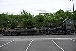 JGSDF Type 73 Extra Large Semi-trailer Truck(50-2229 & 62-2218) right side view at JMSDF Maizuru Naval Base May 18, 2019.jpg