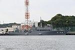 JS Syonan(AMS-5106) right front view at JMSDF Yokosuka Naval Base April 30, 2018.jpg