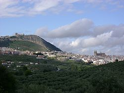View of Jaén