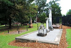 Jackson Street Cemetery, photographer facing SE.JPG