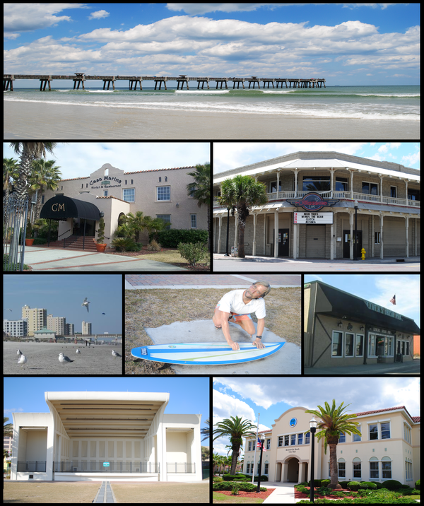 Beach House Jacksonville Beach: Populated Places In Duval County, Florida