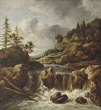 Jacob Isaakszoon van Ruisdael - A Waterfall.jpg