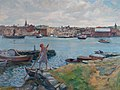 Jacob Kielland Sømme - Stavanger sett fra Sølyst - Stavanger kunstmuseum - SG.0245.jpg