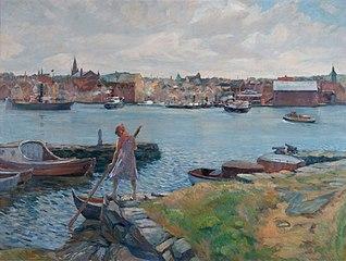 Stavanger sett fra Sølyst