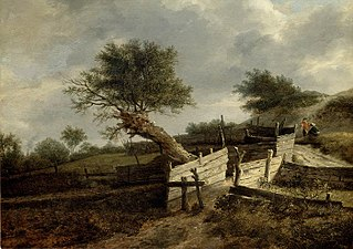 Landscape with Wooden Fence