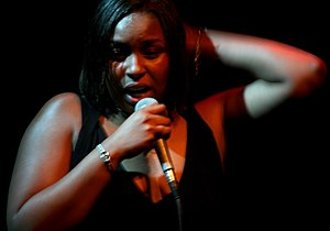 Jaguar Wright - Wright performing in January 2008