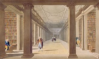 Trinity College Library - Image: James Malton Trinity College Library Dublin