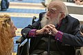 James Randi and friend at CSICon 2018.jpg