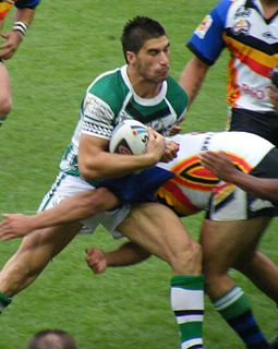 James Tamou New Zealand rugby league player