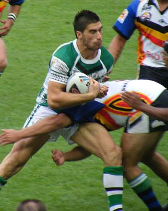 James Tamou - Tamou playing for the New Zealand Māori in 2008