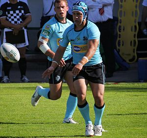 Jamie Soward - Soward playing for the London Broncos in 2013
