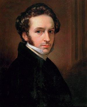 Jan Adam Kruseman - Self-portrait (1827)