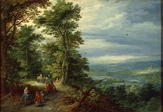 Edge of the Forest (The Flight into Egypt)