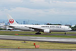 Japan Airlines, B777-200, JA772J (18478846130).jpg