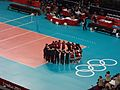 Japan triumphant - Bronze Medal Women's Volleyball (7869526212).jpg
