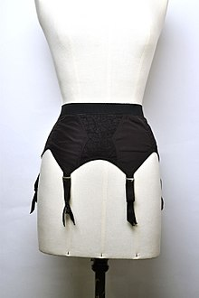 Garter Belt Between 1955 And 1965 Modemuseum Provincie Antwerpen