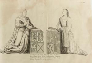 John Stewart, Duke of Albany - Image: Jean Staurt et Anne de La Tour