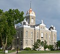 Jefferson County, Nebraska courthouse from SE 1.JPG