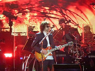 "Handle with Care (song) - Jeff Lynne's ELO performing at Hyde Park in London in September 2014. Their set included a rendition of ""Handle with Care"", played as a tribute to Harrison and Orbison."