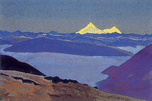 Jelep La - Jelep La Tibetan Frontier by Nicholas Roerich