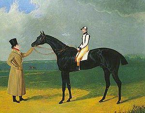 Jerry (St Leger winner) - Jerry', Winner of the St Leger, 1824 by John Frederick Herring