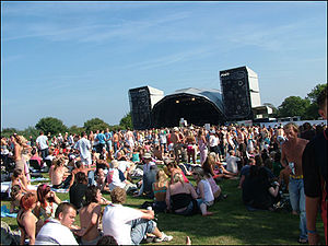 Jersey Live - Main stage in 2007.