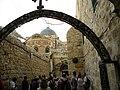 Jerusalem, Ninth Station of Via Dolorosa; 1-3000-2013 (5).jpg