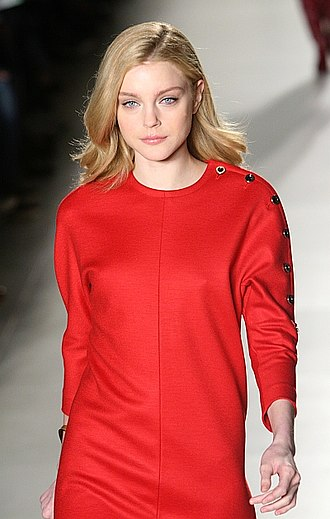 Tommy Hilfiger - Supermodel Jessica Stam wears Tommy Hilfiger on the runway in 2008