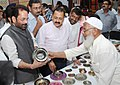 "Jitendra Singh and the Minister of State for Minority Affairs and Parliamentary Affairs, Shri Mukhtar Abbas Naqvi visiting an exhibition cum sale ""Jashn – E – Usttad"".jpg"
