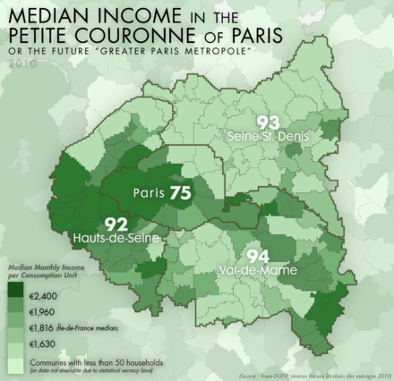 Median income in Paris and its nearest departments Jms pc median income 2010.png