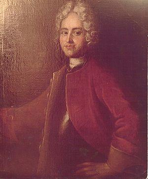 Joachim Daniel von Jauch - General Joachim Daniel von Jauch (about 1720)