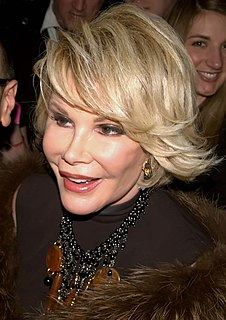 Joan Rivers American comedian, actress, and television host