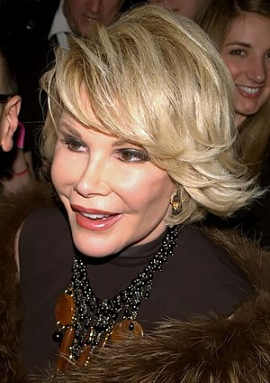 Joan Rivers at Musto's 25th Anniversary.