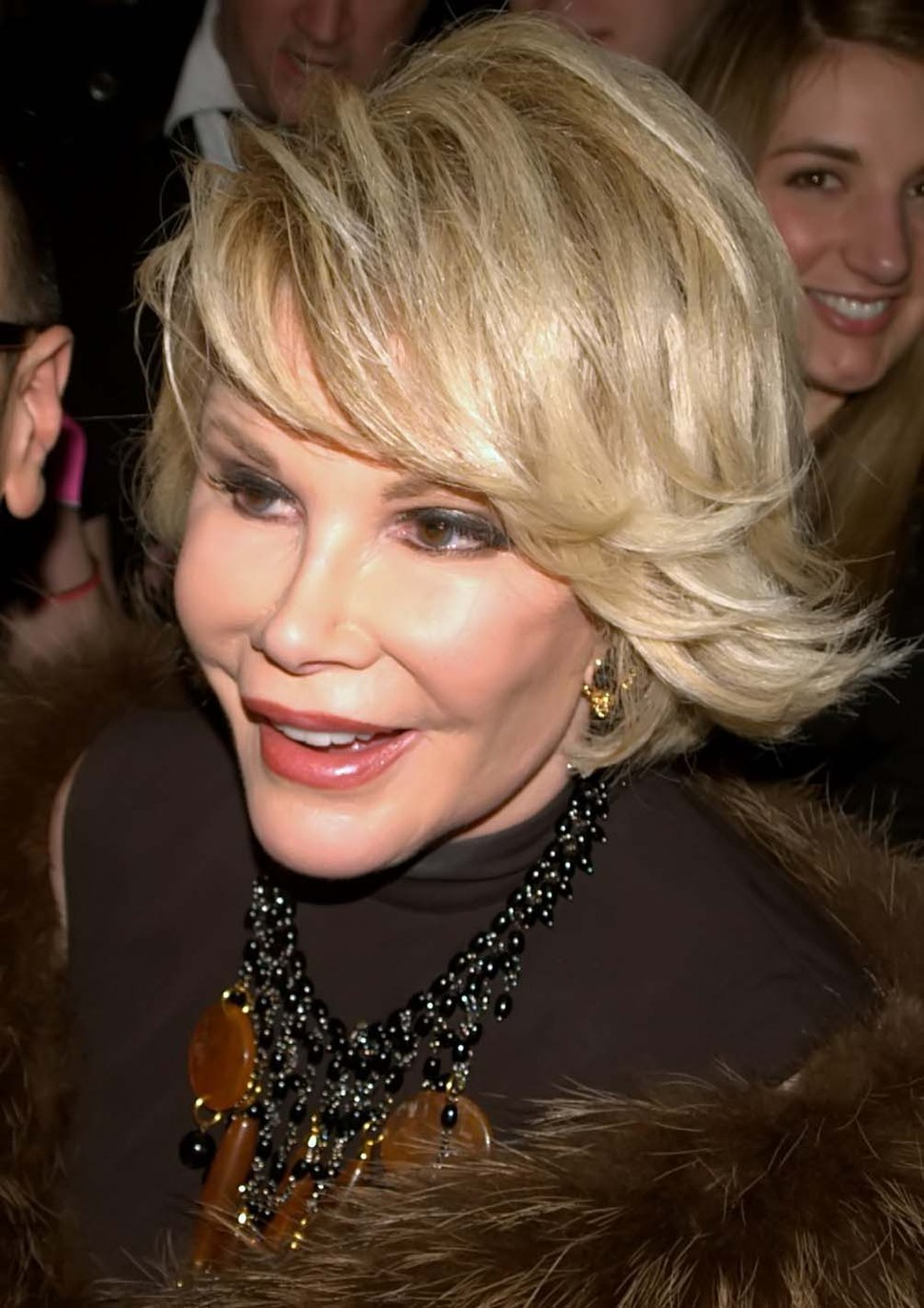 Joan Rivers 2010 - David Shankbone