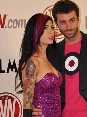 James Deen - James Deen and Joanna Angel at the 2011 AVN Awards