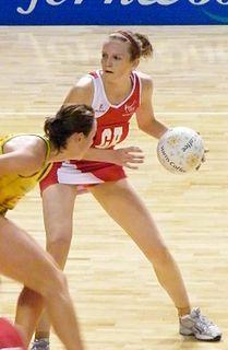 Joanne Harten England netball international