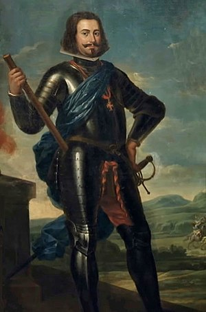 Andalusian independentist conspiracy (1641) - Portrait of John IV of Portugal.