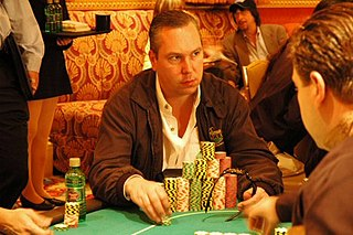 Joe Beevers English poker player