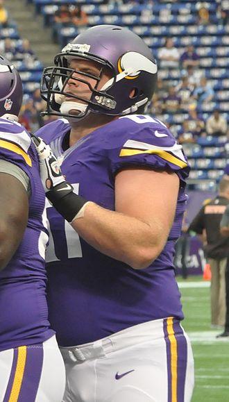 Joe Berger - Berger with the Vikings
