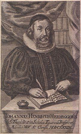 Johann Heinrich Heidegger