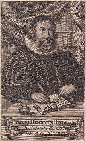 Johann Heinrich Heidegger - Image: Johann Heinrich Heidegger