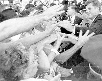 Presidency of John F. Kennedy - Kennedy in Miami, Florida, November 18, 1963