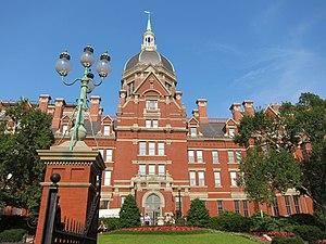 Johns Hopkins University cover