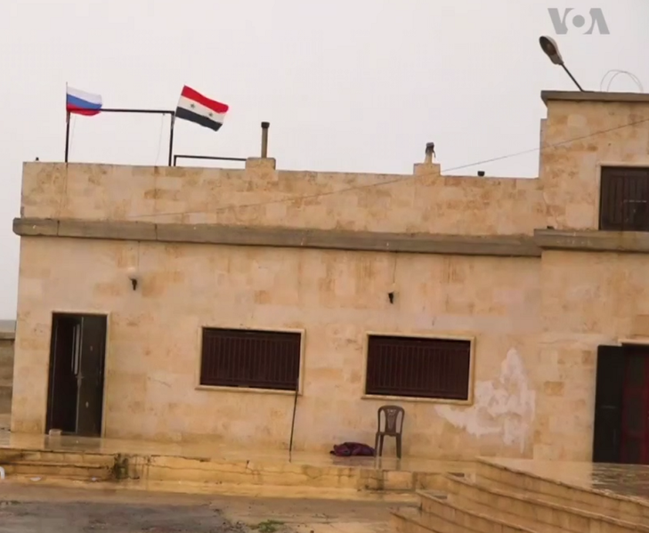 File:Joint Syrian-Russian base near Manbij.png