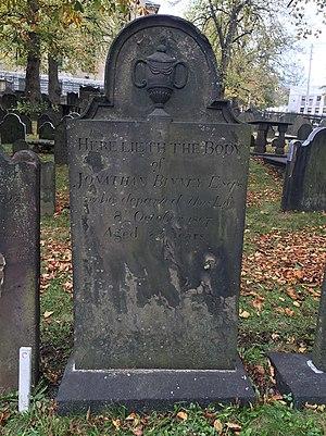 Jonathan Binney - Jonathan Binney, Old Burying Ground, Halifax, Nova Scotia