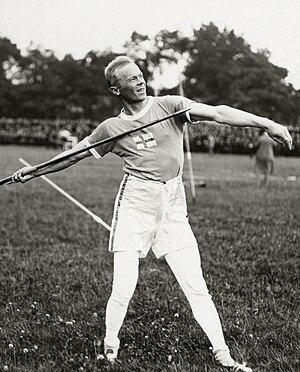 Jonni Myyrä - Jonni Myyrä at the 1920 Olympics