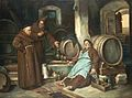 Joseph Haier - Monks in a cellar 1873.jpg